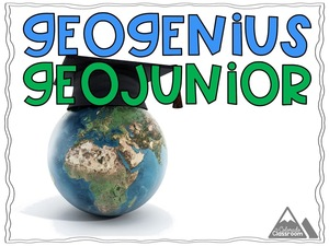 GeoGenius GeoJunior - Are You a Genius When It Comes to Geography?