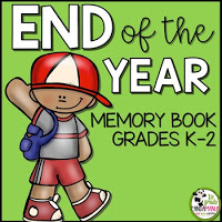 End of Year Memory Book K-2 Product