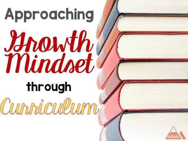 Approaching Growth Mindset through Curriculum
