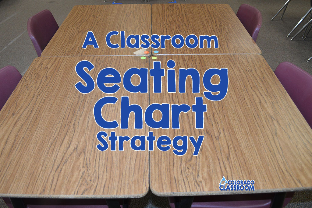 A Classroom Seating Chart Strategy - A Kagan Method explained with a blog post on a classroom management technique.